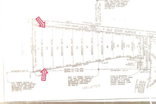 null bed null bath Vacant Land at 0 Old State Farwell, MI, 48622 is for sale at 15k - google static map