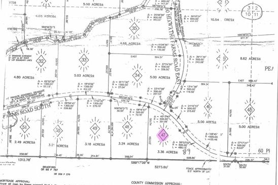 null bed null bath Vacant Land at 47 Hiawatha Farms Rd Monticello, FL, 32344 is for sale at 61k - google static map