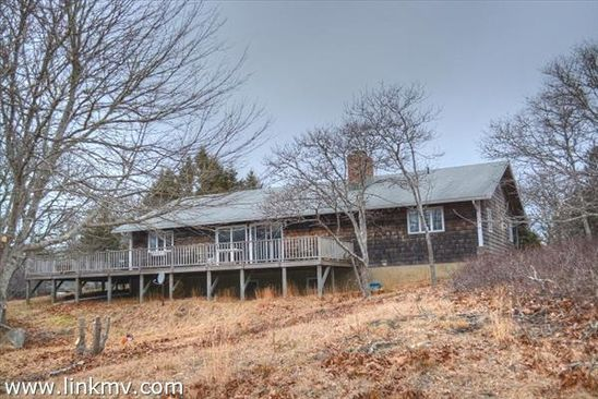 4 bed 2.5 bath Single Family at 8 SMITH LN CHILMARK, MA, 02535 is for sale at 1.18m - google static map