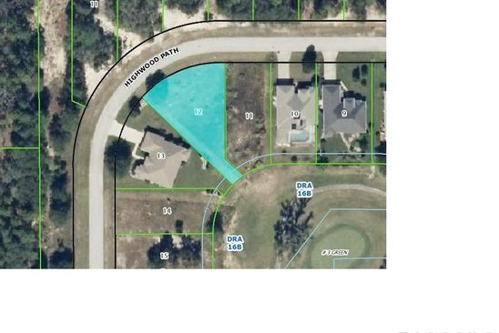0 bed null bath Vacant Land at 28 HIGHWOOD PATH HOMOSASSA, FL, 34446 is for sale at 220k - google static map