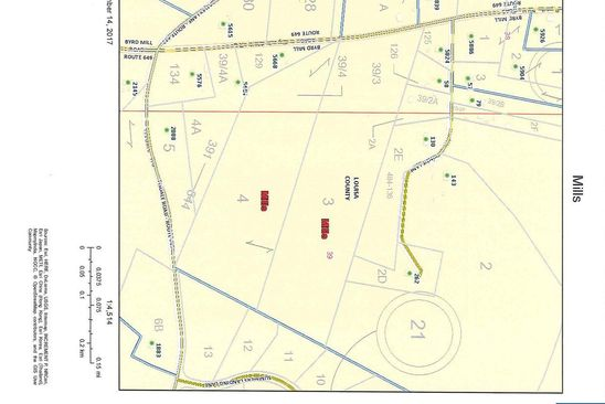 null bed null bath Vacant Land at  A&B Byrd Mill Rd Lot: Harris Creek and Ccc Rd Louisa, VA, 23093 is for sale at 120k - google static map