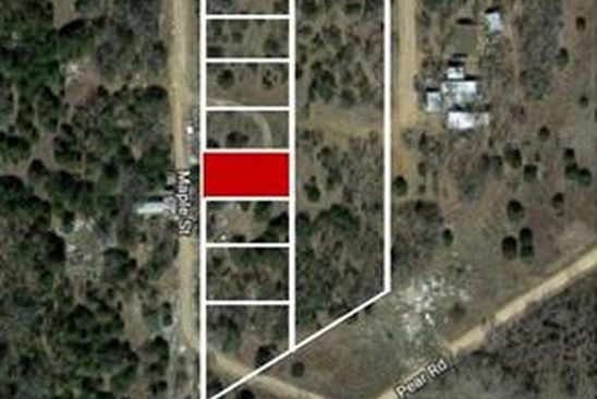 null bed null bath Vacant Land at  Lot 13 Maple Bowie, TX, 76230 is for sale at 2k - google static map