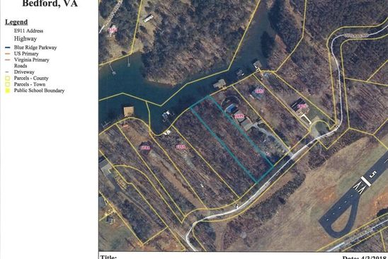 null bed null bath Vacant Land at  Cutlass Rd Moneta, VA, 24121 is for sale at 120k - google static map