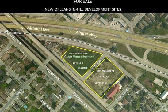 null bed null bath Vacant Land at 3801 Monroe St New Orleans, LA, 70118 is for sale at 655k - google static map