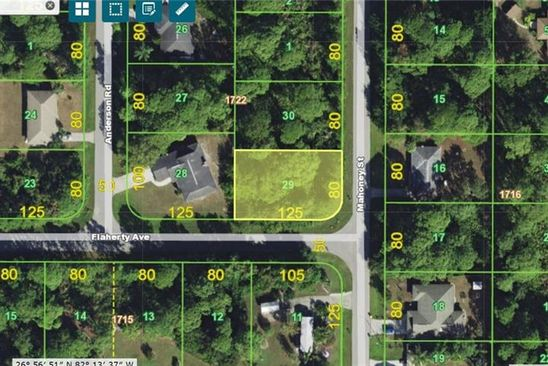 null bed null bath Vacant Land at 5449 Mahoney St Port Charlotte, FL, 33981 is for sale at 10k - google static map