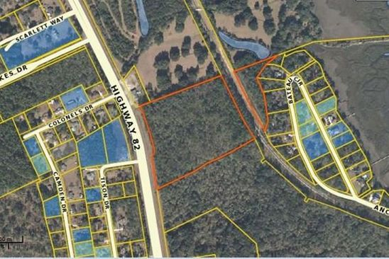null bed null bath Vacant Land at 3600 US HIGHWAY 82 BRUNSWICK, GA, 31523 is for sale at 215k - google static map