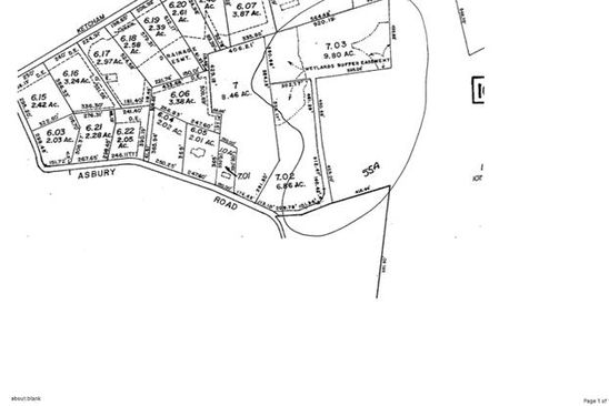null bed null bath Vacant Land at 55A Asbury Rd Hackettstown, NJ, 07840 is for sale at 165k - google static map
