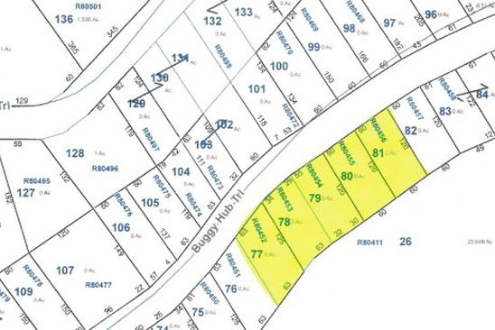 null bed null bath Vacant Land at 7755 Buggy Hub Trl Athens, TX, 75752 is for sale at 10k - google static map
