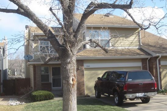 3 bed 4 bath Townhouse at 7545 E GUNNISON PL DENVER, CO, 80231 is for sale at 385k - google static map