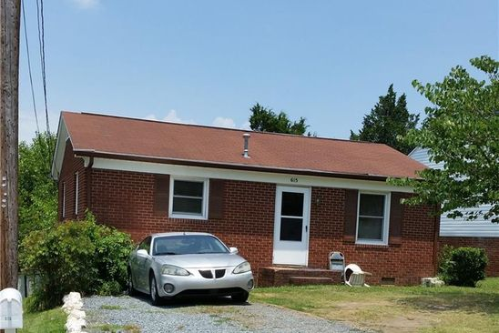 2 bed 1 bath Single Family at 615 MARTHA PL HIGH POINT, NC, 27263 is for sale at 54k - google static map