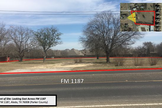 null bed null bath Vacant Land at 517 S Fm 1187 Aledo, TX, 76008 is for sale at 549k - google static map