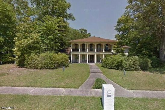 5 bed 4 bath Single Family at 104 BLUE HERON BLVD OCEAN SPRINGS, MS, 39564 is for sale at 329k - google static map