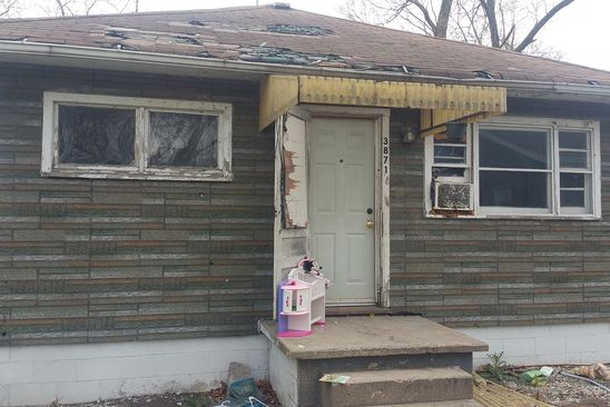 2 bed 1 bath Single Family at 3871 FILLMORE ST GARY, IN, 46408 is for sale at 9k - google static map