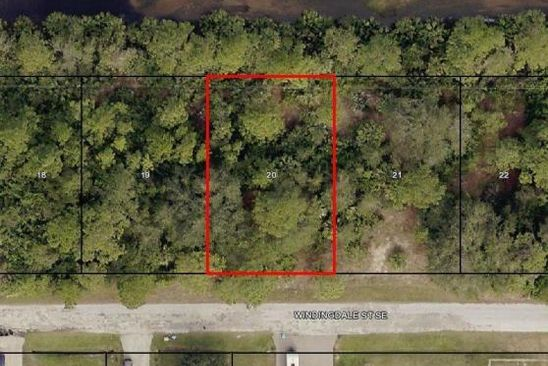 null bed null bath Vacant Land at 1247 WINDINGDALE ST SE PALM BAY, FL, 32909 is for sale at 11k - google static map