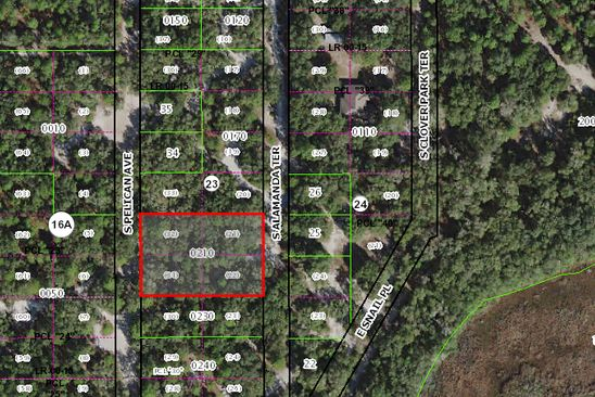 null bed null bath Vacant Land at 3648 S ALAMANDA TER INVERNESS, FL, 34450 is for sale at 7k - google static map