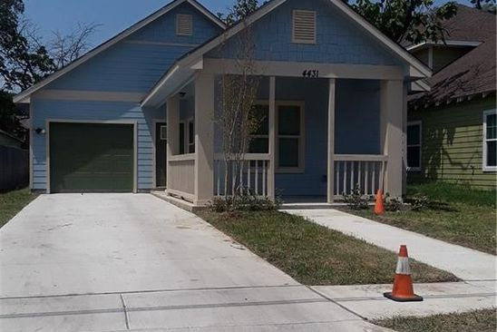3 bed 2 bath Single Family at 4431 FRANK ST DALLAS, TX, 75210 is for sale at 110k - google static map
