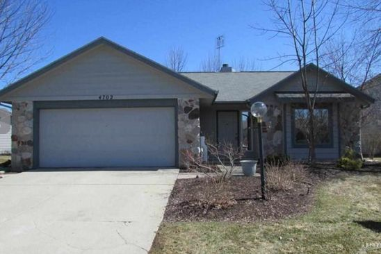 3 bed 2 bath Condo at 4702 CRYSTAL RIDGE CV FORT WAYNE, IN, 46835 is for sale at 135k - google static map