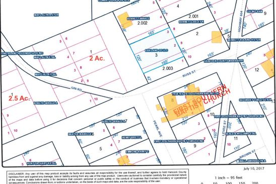 null bed null bath Vacant Land at 0 Gin Rd Pearlington, MS, 39572 is for sale at 10k - google static map