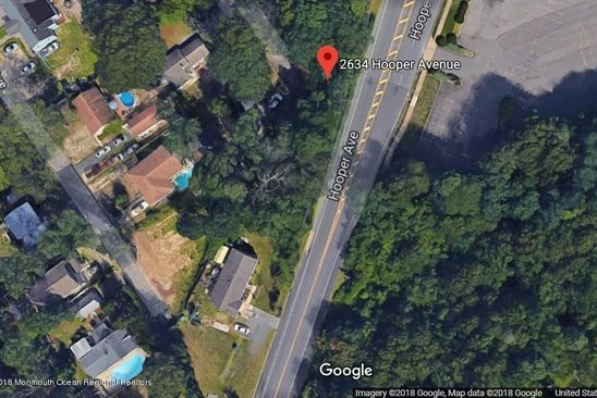 null bed null bath Vacant Land at 2634 Hooper Ave Brick, NJ, 08723 is for sale at 70k - google static map