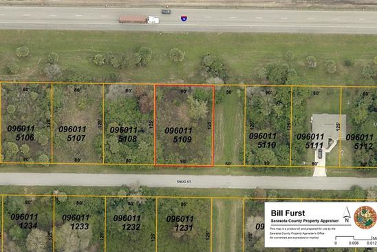 null bed null bath Vacant Land at  SNUG ST NORTH PORT, FL, 34286 is for sale at 8k - google static map
