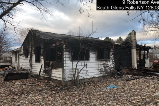 3 bed 2 bath Single Family at 9 Robertson Ave South Glens Falls, NY, 12803 is for sale at 25k - google static map