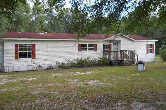 3 bed 3 bath Mobile / Manufactured at 284 SWEETFIELD RD MONTICELLO, FL, 32344 is for sale at 95k - google static map