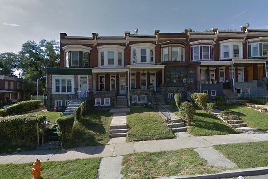 2 bed 1 bath Townhouse at 2705 W MOSHER ST BALTIMORE, MD, 21216 is for sale at 15k - google static map