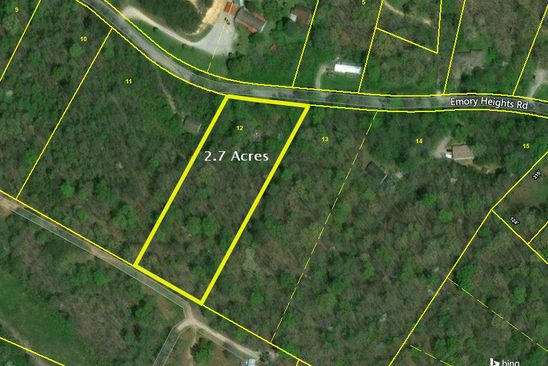 null bed null bath Vacant Land at 774 Emory Heights Rd Harriman, TN, 37748 is for sale at 18k - google static map