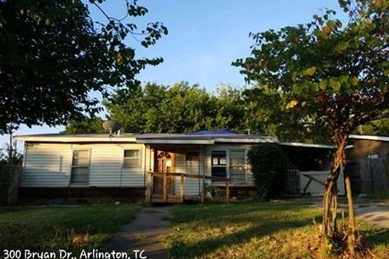 3 bed 1 bath Multi Family at 300 Bryan Dr Arlington, TX, 76011 is for sale at 109k - google static map