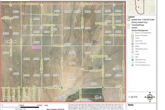 null bed null bath Vacant Land at E Half of Golden Valley, AZ, 86413 is for sale at 20k - google static map