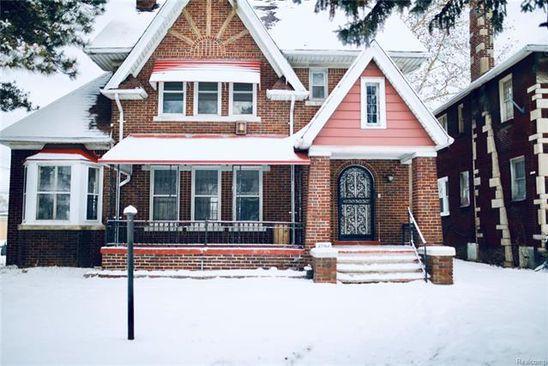 4 bed 3 bath Single Family at 4794 LESLIE ST DETROIT, MI, 48238 is for sale at 140k - google static map