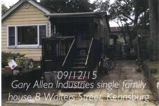 3 bed 1 bath Single Family at 8 WALTERS ST KEANSBURG, NJ, 07734 is for sale at 139k - google static map
