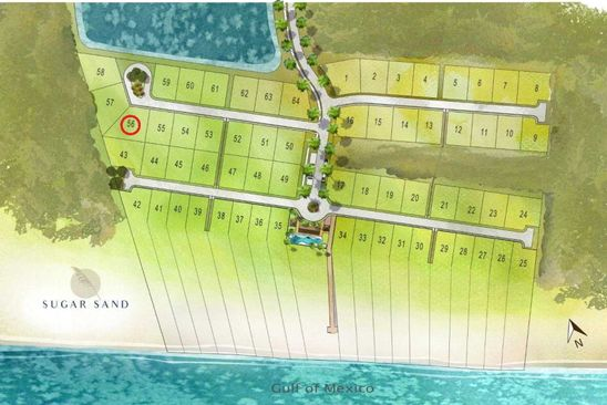 null bed null bath Vacant Land at 108 Sugar Sand W Mexico Beach, FL, 32410 is for sale at 280k - google static map
