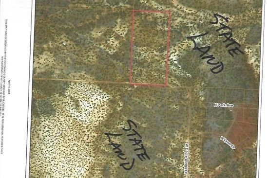 null bed null bath Vacant Land at  Sec 25 Coconino County Ash Fork, AZ, 86320 is for sale at 8k - google static map