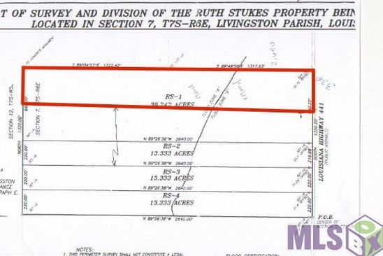 null bed null bath Vacant Land at LA Hwy 441 Holden, LA, 70744 is for sale at 118k - google static map