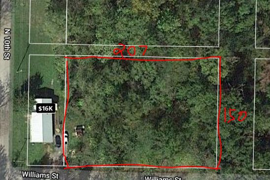 null bed null bath Vacant Land at  Williams St Mount Vernon, IL, 62864 is for sale at 6k - google static map