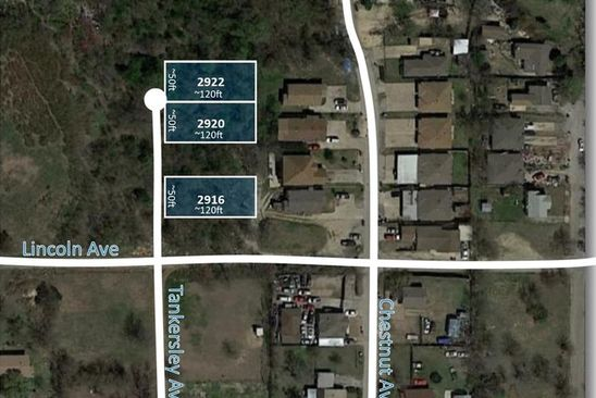 null bed null bath Vacant Land at 2916 Tankersley Ave Fort Worth, TX, 76106 is for sale at 15k - google static map