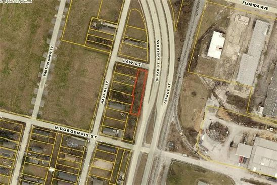 0 bed null bath Vacant Land at 4116 Law St New Orleans, LA, 70117 is for sale at 15k - google static map