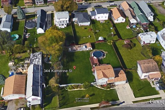 null bed null bath Vacant Land at 344 Katherine St Buffalo, NY, 14210 is for sale at 405k - google static map