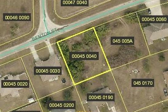 null bed null bath Vacant Land at 5229 5231 Benton St Lehigh Acres, FL, 33971 is for sale at 20k - google static map