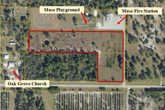 null bed null bath Vacant Land at  RAINBOW BLVD LABELLE, FL, 33935 is for sale at 99k - google static map