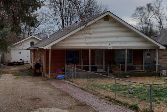 2 bed 1 bath Single Family at 1439 LITTLE AVE COLUMBUS, OH, 43223 is for sale at 30k - google static map