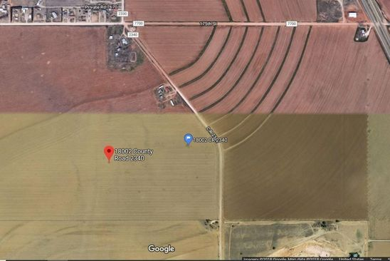 null bed null bath Vacant Land at 18002 County Road 2340 Lubbock, TX, 79423 is for sale at 425k - google static map