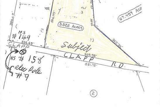null bed null bath Vacant Land at 0 Clapp Rd Hardwick, MA, 01037 is for sale at 15k - google static map