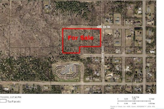 null bed null bath Vacant Land at  Xxx 4th St W Grand Marais, MN, 55604 is for sale at 90k - google static map