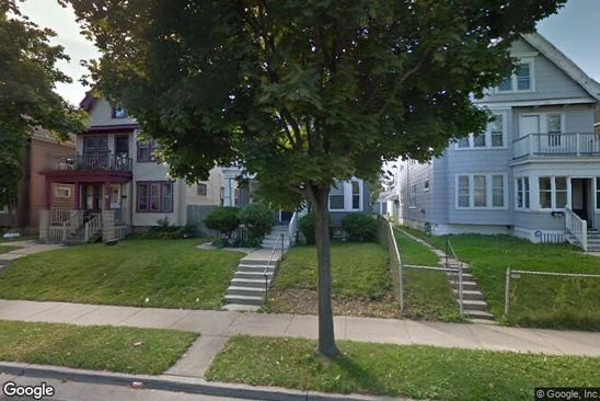 4 bed 2 bath Multi Family at 3205 N 13TH ST MILWAUKEE, WI, 53206 is for sale at 6k - google static map