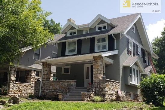 3 bed 3 bath Single Family at 4123 KENWOOD AVE KANSAS CITY, MO, 64110 is for sale at 349k - google static map