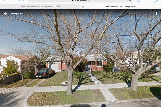 2 bed 1 bath Single Family at 3859 WEMDON DR DALLAS, TX, 75220 is for sale at 250k - google static map