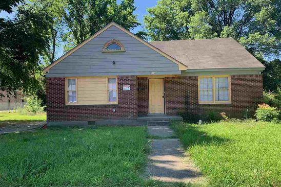 4 bed 2 bath Single Family at 1363 S Lexington Cir Memphis, TN, 38107 is for sale at 40k - google static map