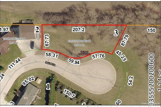 null bed null bath Vacant Land at  Lot # 3 Dollar Ln Mishicot, WI, 54228 is for sale at 19k - google static map